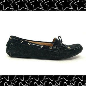 CLARKS Suede Leather Driving Loafers
